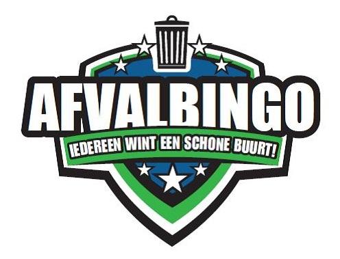 logo afvalbingo - iedereen wint een schone buurt!