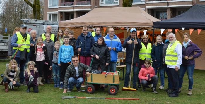NL Doet dag weer groot succes voor Buurtvereniging de Leeuweriki