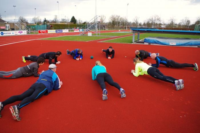 Iets minder hardlopen maar wel lekker aan conditie en lichaam werken: BOOTCAMP