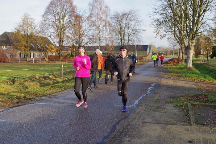 Samen hardlopen is veel leuker!